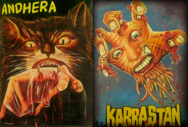 Bollywood horror posters