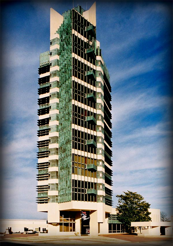 Price Tower, Frank Lloyd Wright